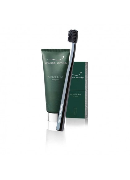Herbal bliss  toothpaste & toothbrush